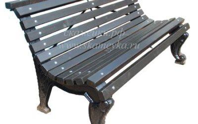 Зачем скамейкам нужна стяжка?