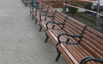 Косметический ремонт скамеек