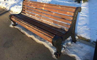 Долговечность городских скамеек